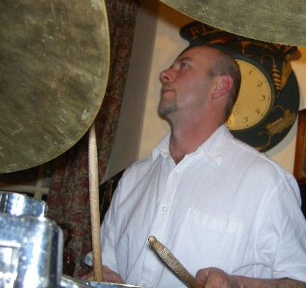 Al on drums