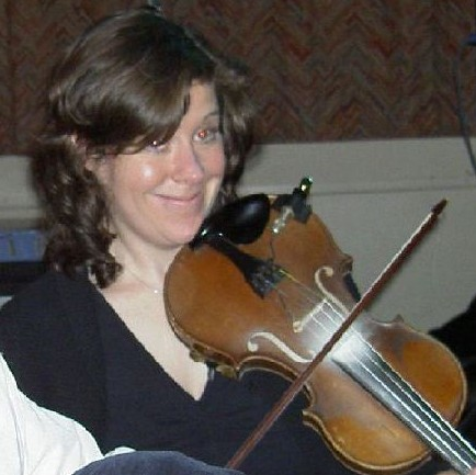 Tara on fiddle